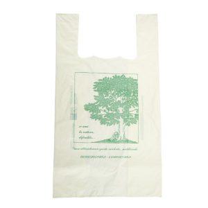Shoppers in plastica biodegradabili