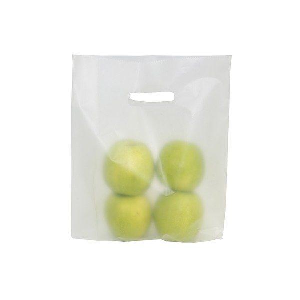 Borse in plastica con maniglia fagiolo