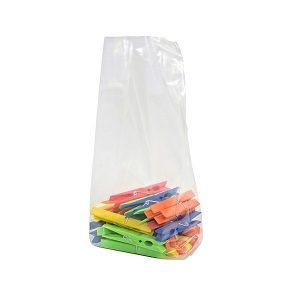 Sacchetti in plastica con soffietti 15 micron