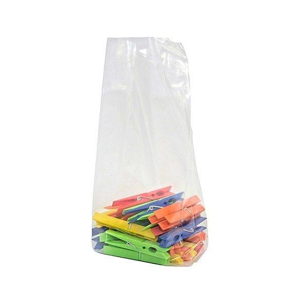 Sacchetti in plastica con soffietti 30 micron