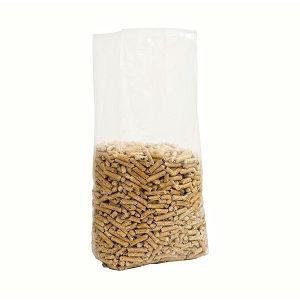 Sacchetti in plastica con soffietti 100 micron